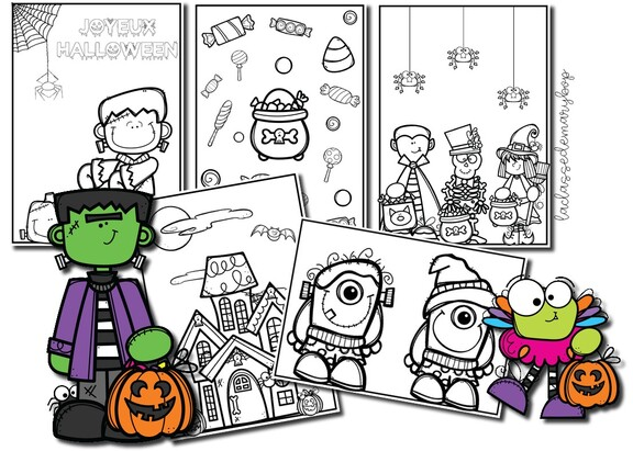 Coloriages d´Halloween
