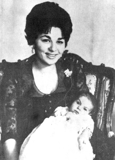 Naissance du prince Réza en 1960