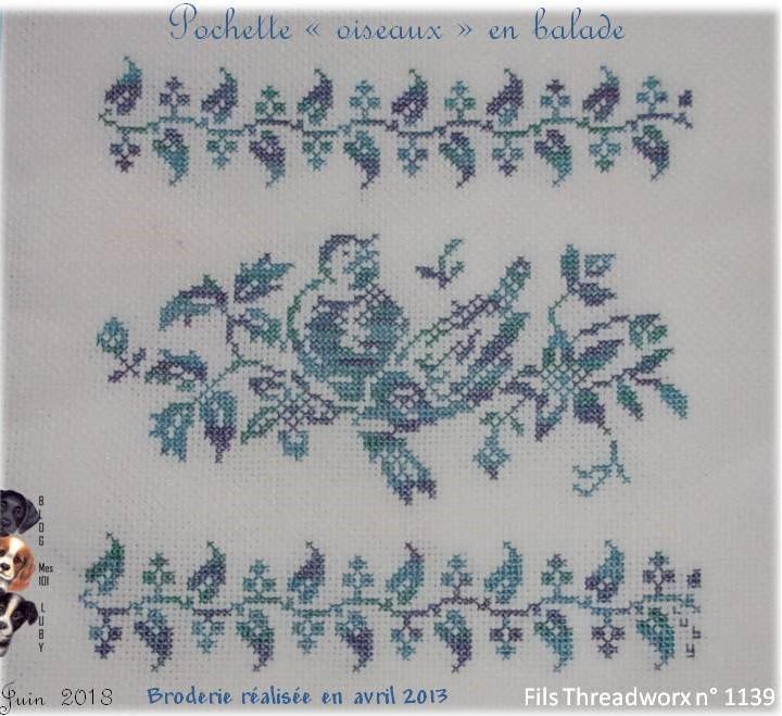 """Pochette """"oiseaux"""" en balade"""