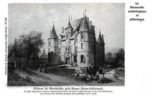 LES REMPARTS DE MARTAINVILLE (Seine-Maritime)
