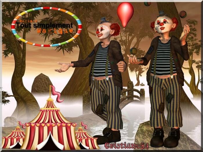 Défi pour cerise déco ! le cirque