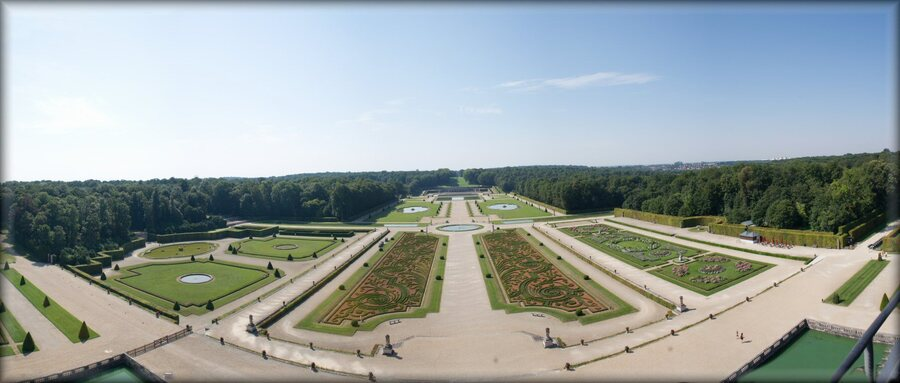 Vaux le Vicomte jardin