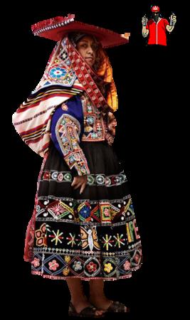 Tube Femme Pérou