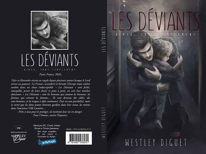 """Précommandes """"les déviants"""" (Westley Diguet)"""