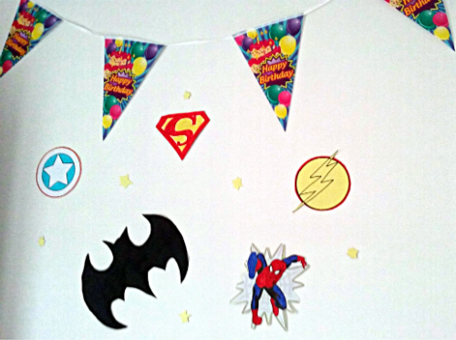 Un anniversaire de Super Héro (DIY et guide de survie)