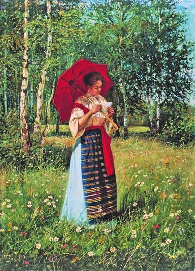 03 - Parapluies, ombrelles dans la peinture du monde