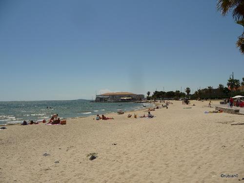 La plage du centre ville