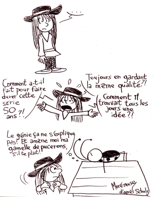 Comic strip mon amour