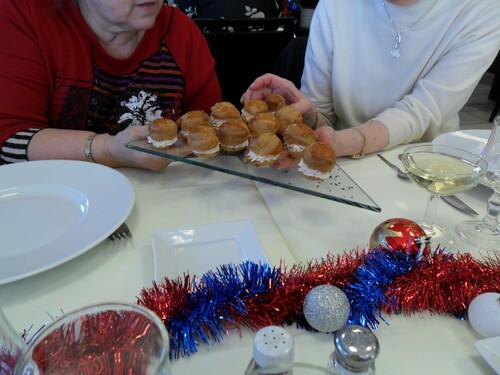 Repas de Noël au restaurant Pédagogique de CUNAC  81