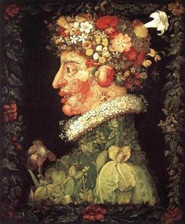 Arcimboldo Le Printemps 1573