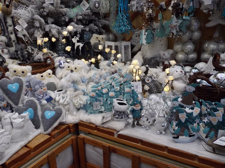 Promenade au marché de Noel