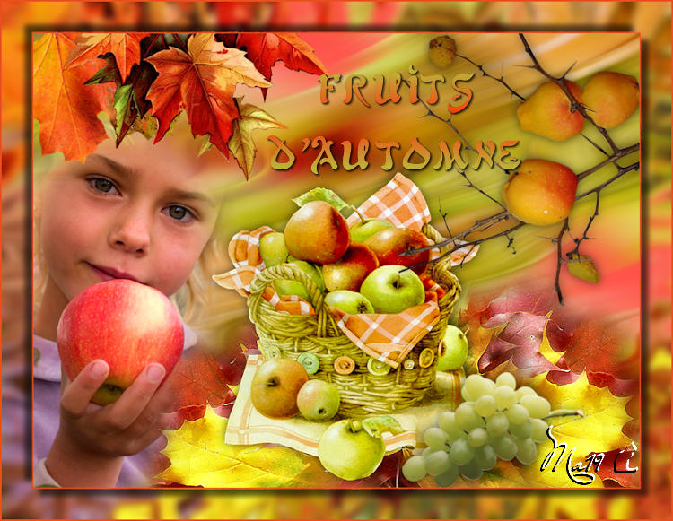 Défi fruits d'automne