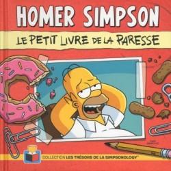 Couverture de Homer Simpson - Le petit livre de la paresse
