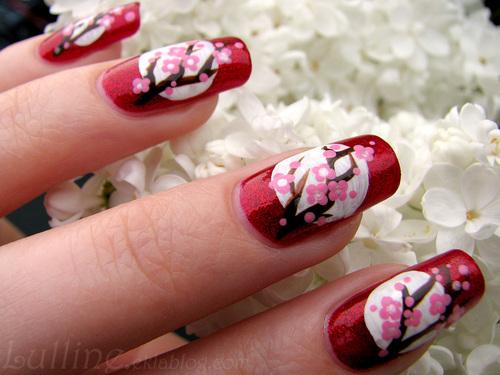 Nail Art Ohanami