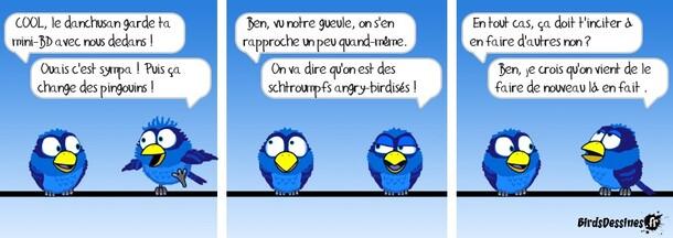 Mini BD oiseaux