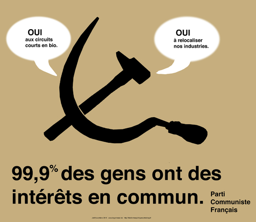 Le communisme, vintage et futuriste