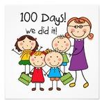 Le centième jour d'école !