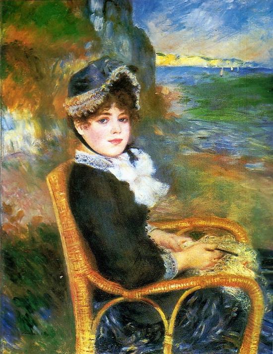 Pierre-Auguste Renoir, Au bord de la mer