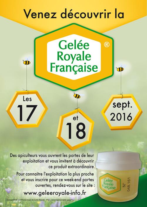 Journée découverte de la gelée royale française au Jas des abeilles à Reillanne