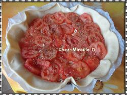 Tarte Rustique Tomates Jambon et 3 Fromages
