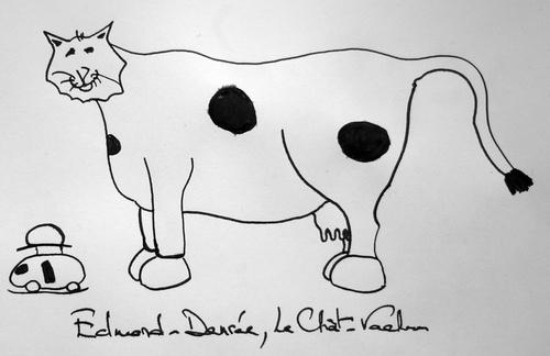 Edmond-Denrée, Le Chat-Vache