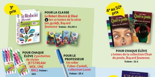 Concours Je Bouquine 2013
