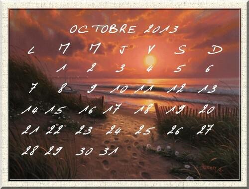 Etape 77 Comment faire un calendrier avec photofiltre