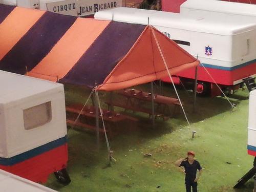 le cirque Jean Richard d' Eric Langlois au 1/50