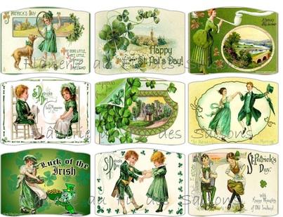 Cartonnettes St Patrick !