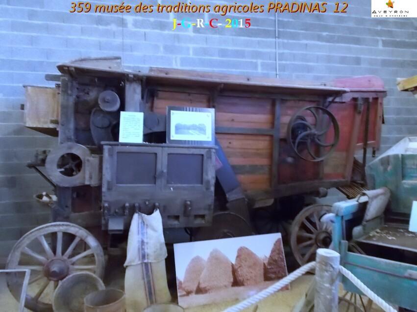 MUSEE DES TRADITIONS  AGRICOLES 6/6 DE PRADINAS 12   D 12/11/2015