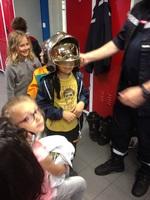Visite de la caserne des pompiers de Sarreguemines