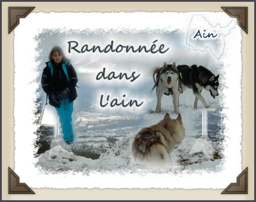 carte souvenir de l'Ain