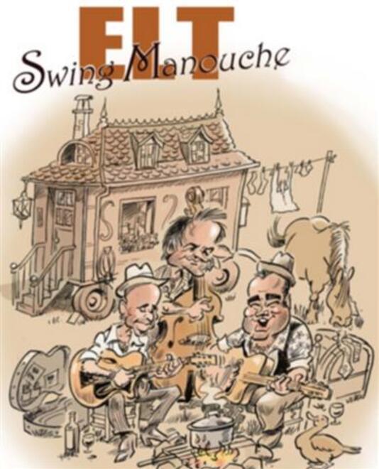 Concert Eric Lecordier Trio Swing Manouche Orthez