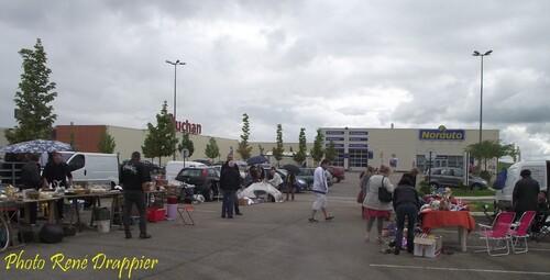 Le vide grenier d'Auchan...