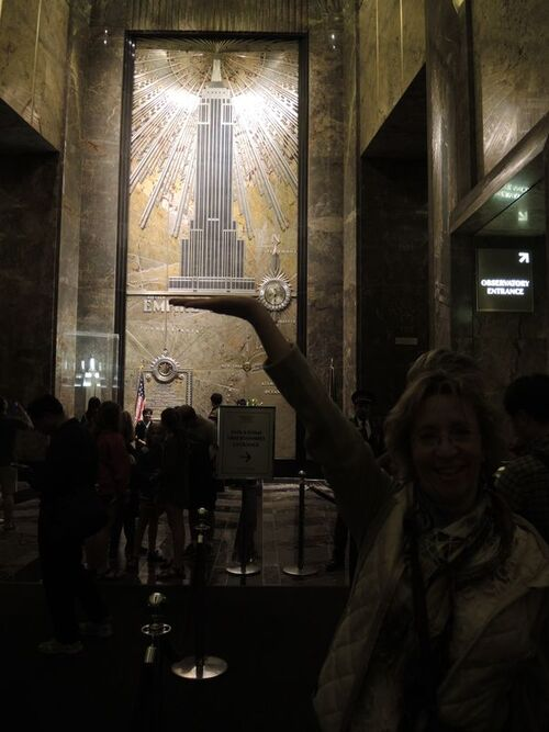 NEW YORK 2016- Jour 6- Empire State le soir