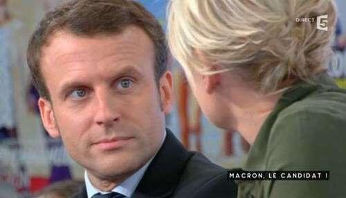CHANTOUVIVELAVIE : Taquiné sur ses couvertures de magazines, Macron s'emporte