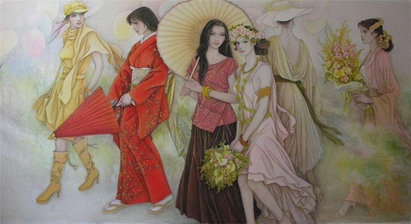 Belles Images:  5 Belles Femmes