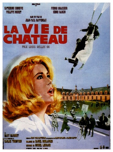 LA VIE DE CHATEAU BOX OFFICE FRANCE 1966