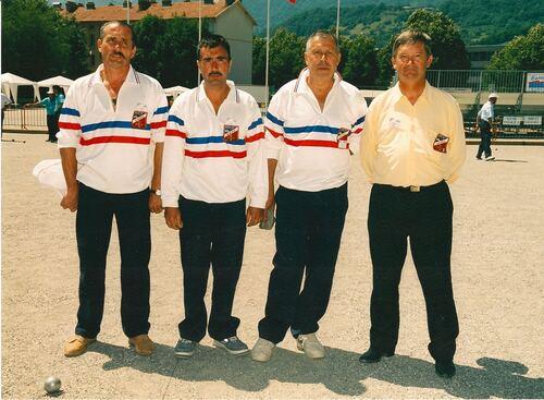 Les Champions de France  JP de 1986 à 2019