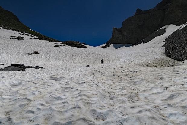 En passant par le Col d'Emaney