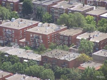 Ilots résidentiels à Montréal