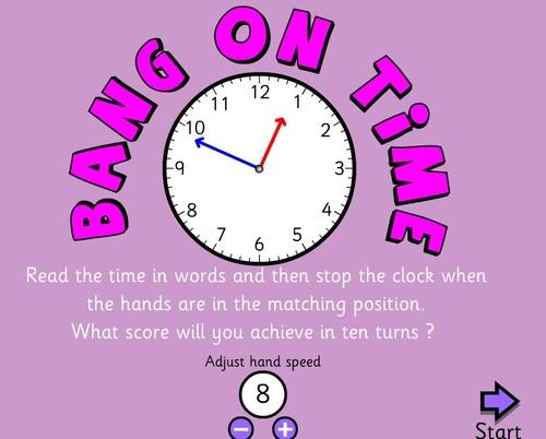 """""""What time is it ?"""" à travers des jeux"""