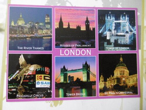 Carte postale gagnée par Aline