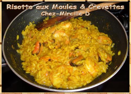 Risotto aux Moules & Crevettes