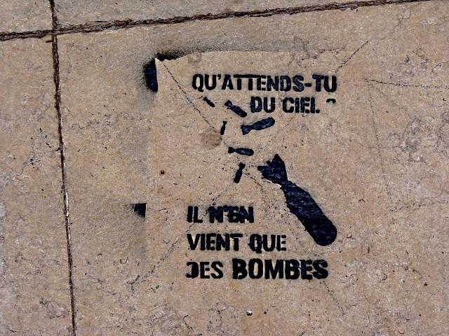 Message urbain à Metz 1 Marc de Metz 2012