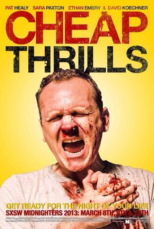 "Bonsoir a l'honneur : "" Cheap Thrills """