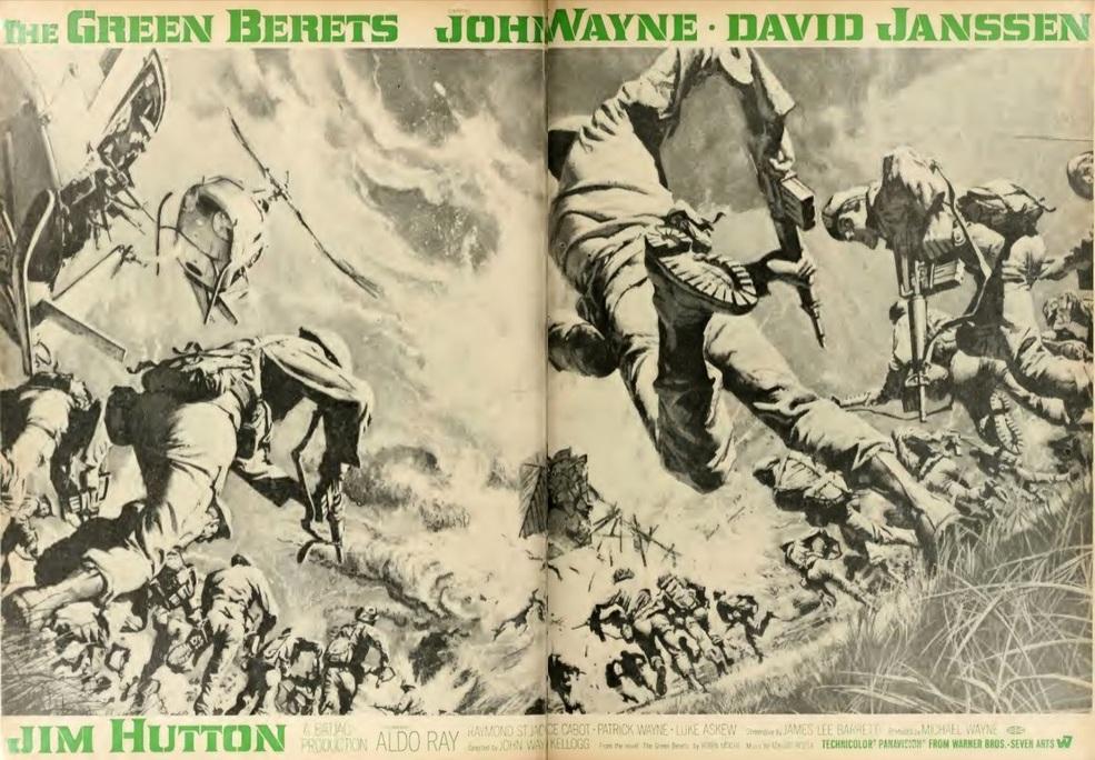 THE GREEN BERETS box office USA 1968