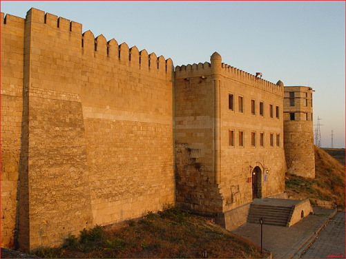 La forteresse sassanide de Derbent