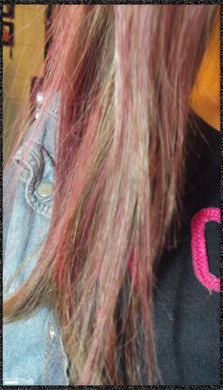 DIY cheveux colorés à moins de 2 €