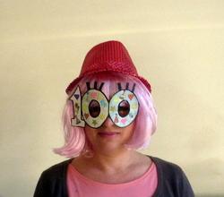 lunettes 100 pour centième jour école